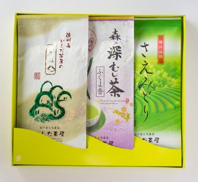 上煎茶3種セット100g袋入×3