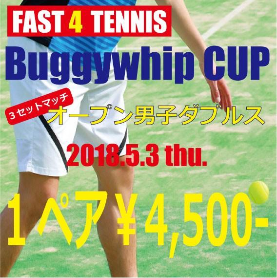 【2018.5.3開催】Buggywhip CUP FAST4 3セットマ...