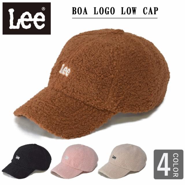 LEE リー ボア ロゴ キャップ もこもこ ボアキャ...