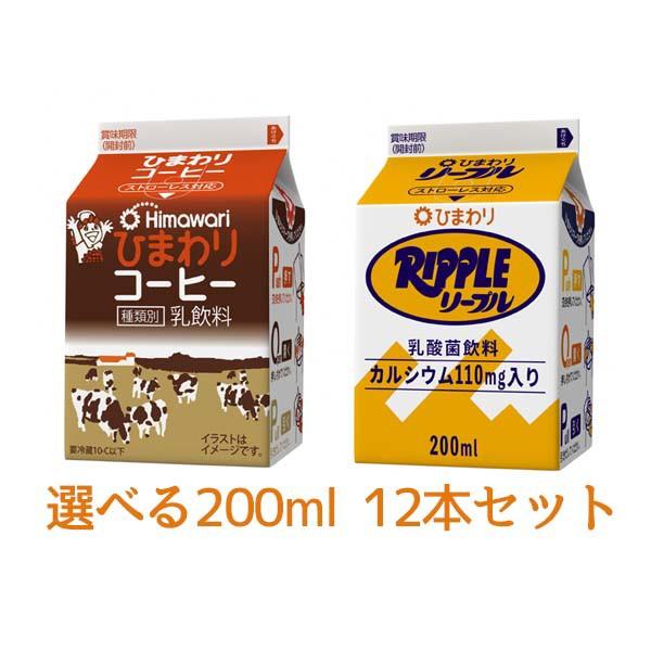ひまわりコーヒー リープル200ml 選べる 12本...
