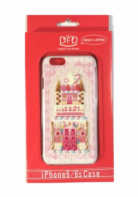 iPhone6/6s用立体ケース お菓子の城PC 日本製