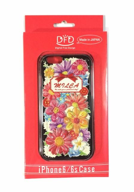 iPhone6/6s用立体ケース 花VF 日本製