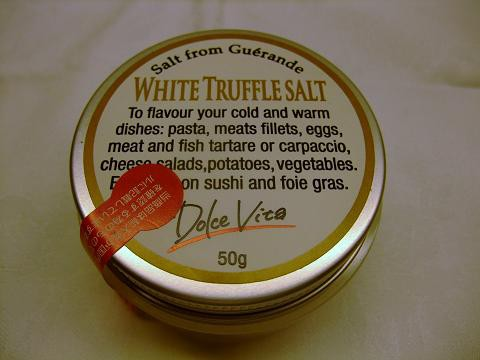 最高級 イタリア産 白トリュフ塩(トリュフソル...