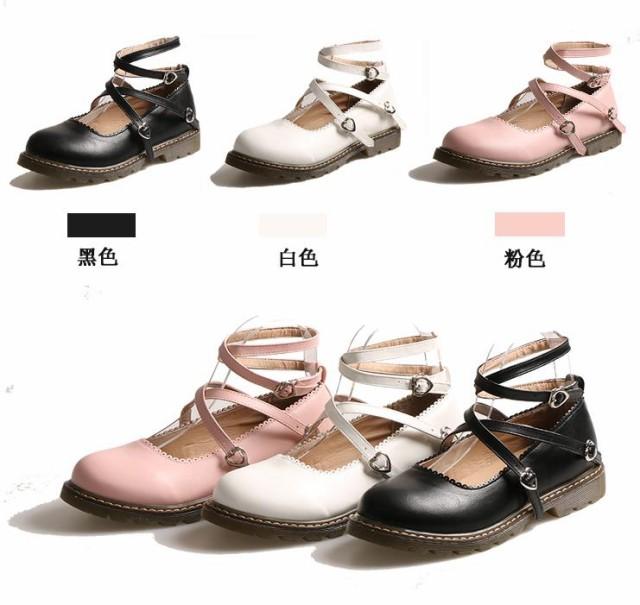 レディースlolita革靴JK オックスフォードシュー...