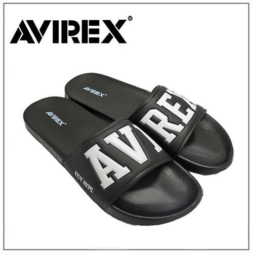 AVIREX ユニセックス サンダル ブラック 4620...