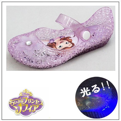 7317 Disney プリンセス 光る ガラスの靴 パ...