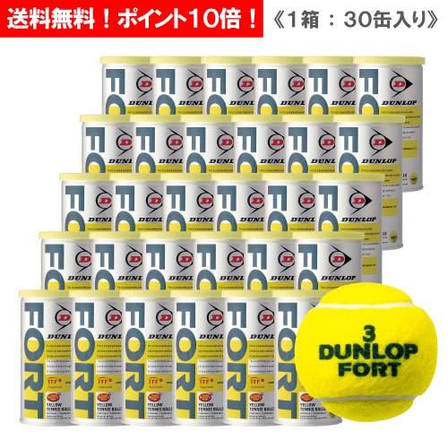 ダンロップ [DUNLOP] フォート 1箱(1缶2球入/30缶...
