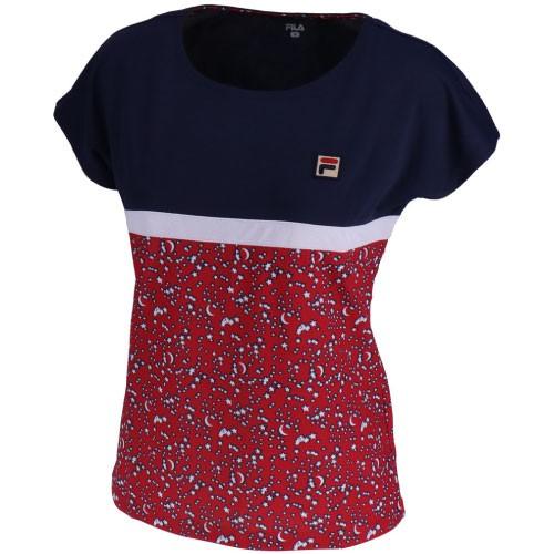 フィラ ゲームシャツ(VL1826-11)[FILA LS レデ...
