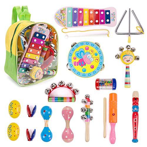 楽器おもちゃ 赤ちゃんおもちゃ 0歳 1歳 パーカ...