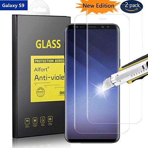Samsung Galaxy S9専用(2枚セット)強化ガラス ...
