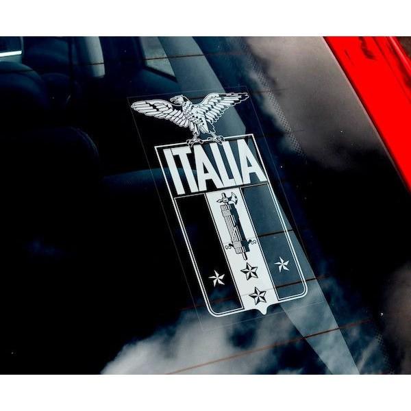 【送料無料】 イタリア 社会共和国 国章 ステッカ...