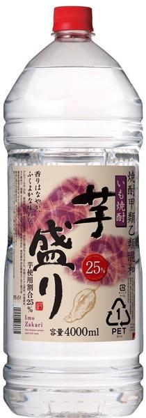 芋焼酎 芋盛り 25度 4Lペットボトル 4000ml ...