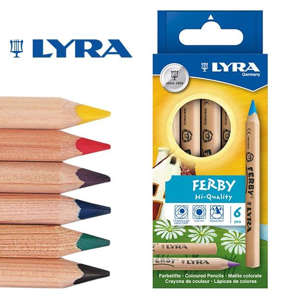 [メール便可] LYRA リラ社 FERBY ファルビー 色鉛...
