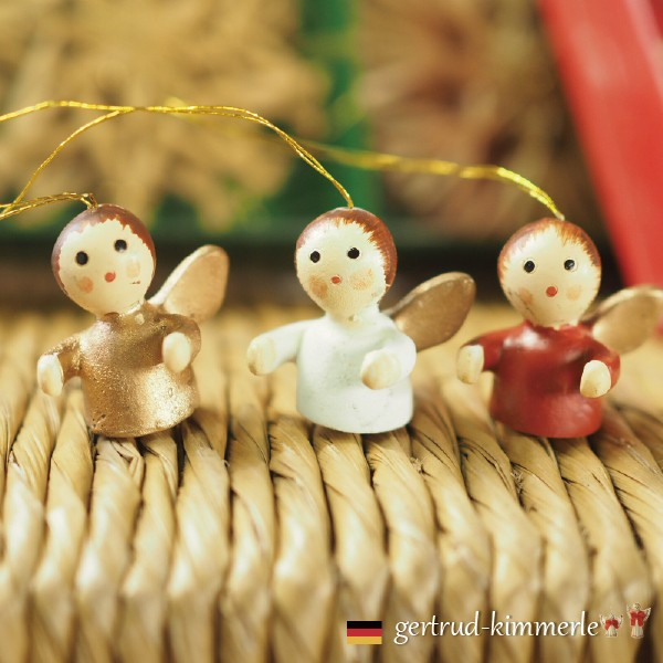 Kimmerle キマール社 クリスマス 陶製オーナメン...