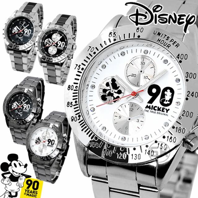 ディズニー 腕時計 ミッキー 生誕90周年記念 メン...