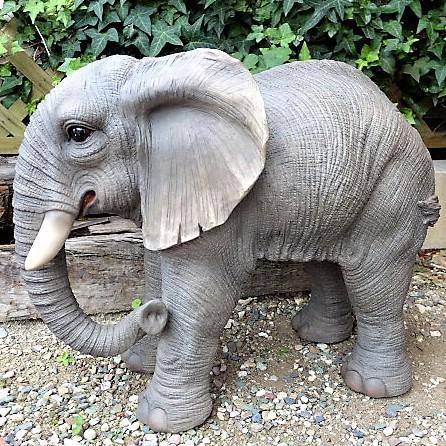 ぞうの置物 ゾウ 象 エレファント 41QY 動物 ...