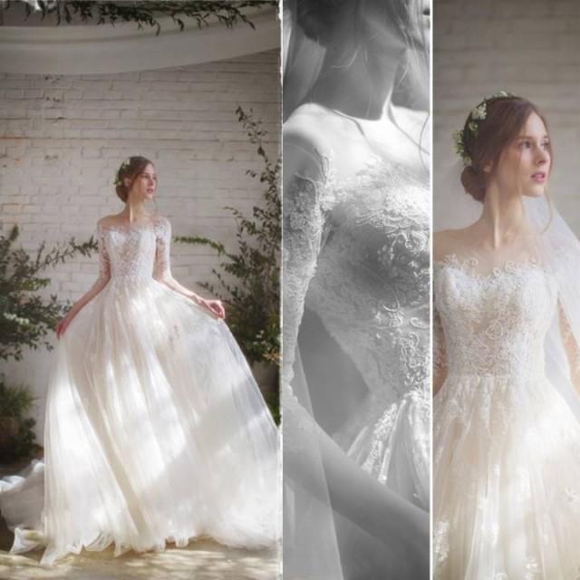 ウエディングドレス Aライン パーティー 結婚式 ...