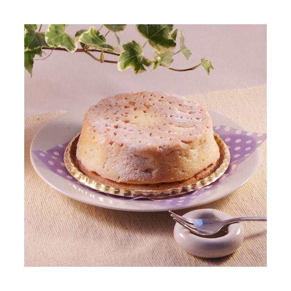 白いチーズケーキ 1台 (直径約12cm) 【代引不可】...