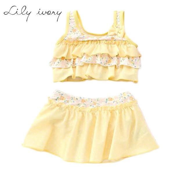 水着 リリィアイボリー Lilly ivory 女の子 80cm ...