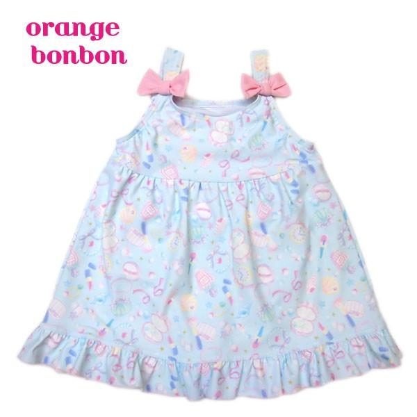 水着 オレンジボンボン orange bon bon 女の子 10...