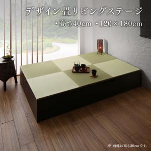 リビング 収納 日本製 収納付きデザイン畳リビン...