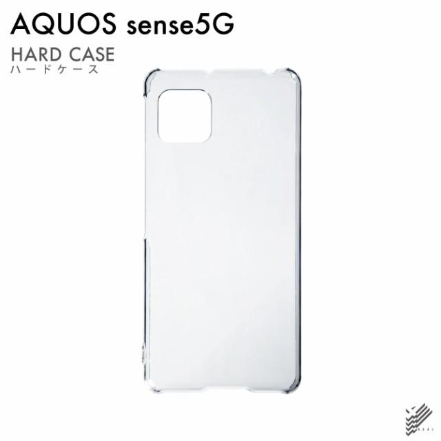 AQUOS sense5G SHG03 用 スマホケース 無地ケース...