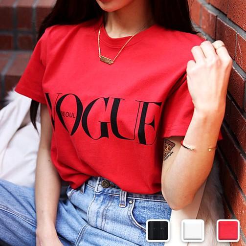 【お取り寄せ】【3カラー5サイズ】 Tシャツ VOGUE...