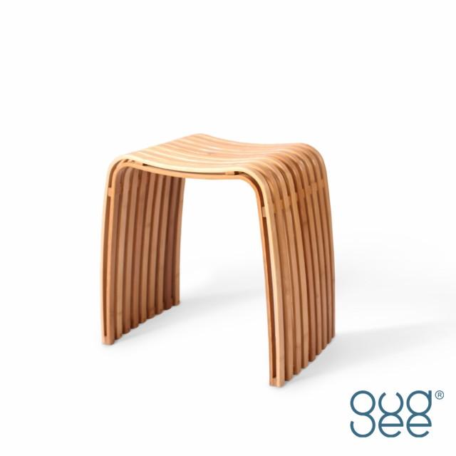 gudeelife COLIN スツールバンブー 天然木製 竹 ...