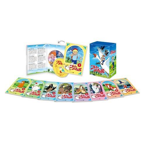 ニルスのふしぎな旅 新価格版 DVD-BOX 全9枚セ...
