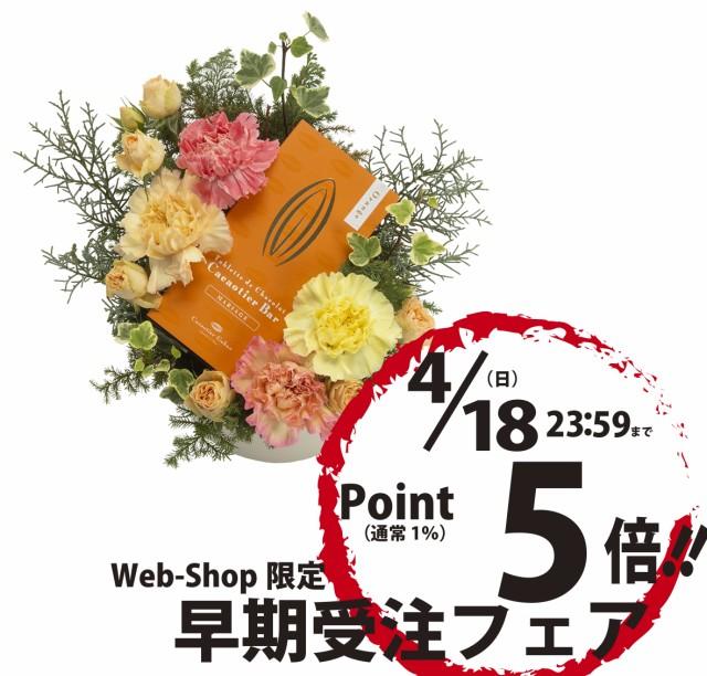「母の日商品」アレンジメント「オランジュ」★配...