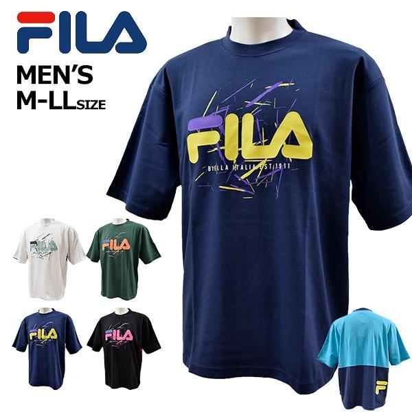 フィラ fila メンズ Tシャツ 半袖 ゆったり バイ...