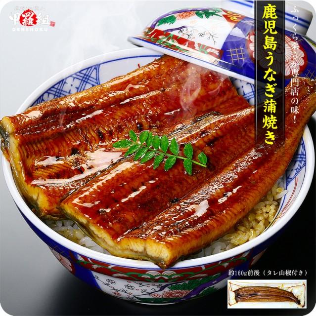 鹿児島ブランドうなぎ 160g前後 タレ&山椒、食べ方の説明書付き【うなぎ】【ウナギ】【鰻】