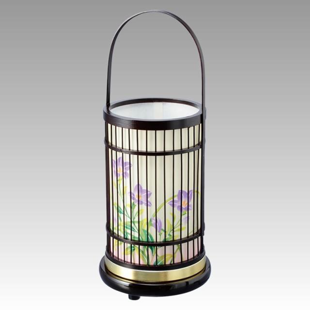 盆提灯 インテリア提灯 和風提灯 回転提灯 竹彩1...