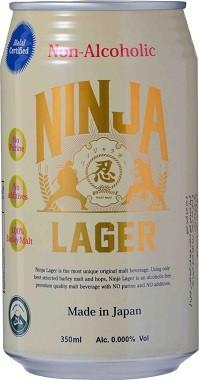 忍者ラガー ノンアルコール 350ml×24本 NINJA ...