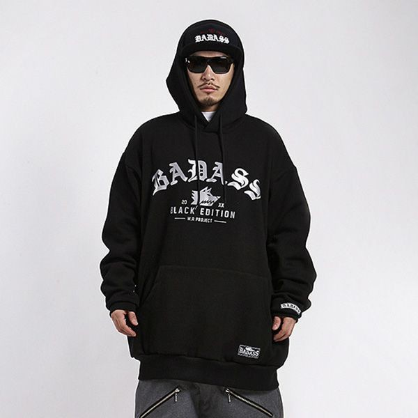 BADASS バダス W.R Project Hood Black ビッグサ...