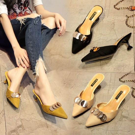 サンダル レディース 靴 ミュール 大きいサイズ ...
