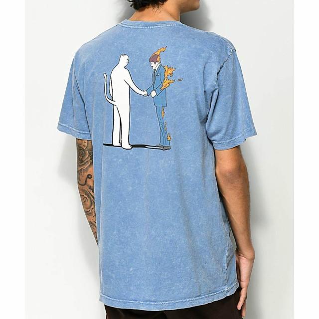 リップンディップ RIPNDIP メンズ Tシャツ トップ...