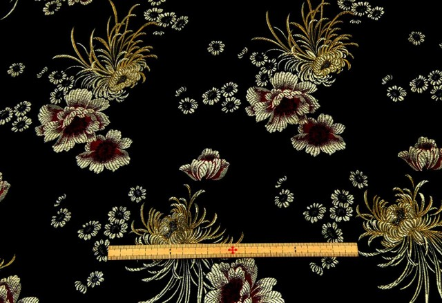 金襴 生地/布#19570cm巾ポリエステル 商用利用可...