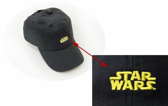 スターウォーズ ロゴ刺繍キャップ 帽子 SWAP...