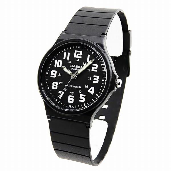取寄品CASIO腕時計アナログ表示丸形MQ-71-1Bチプ...