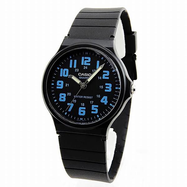 取寄品CASIO腕時計アナログ表示丸形MQ-71-2Bチプ...