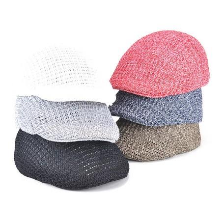 アゼ編みサーモハンチング ヤング帽子