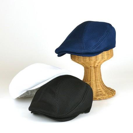 メッシュハンチング ヤング帽子 メンズ レディー...