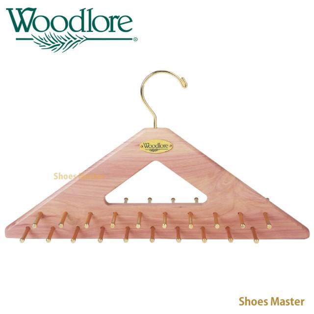 木製 ネクタイ ハンガー Woodlore ウッドロア タ...