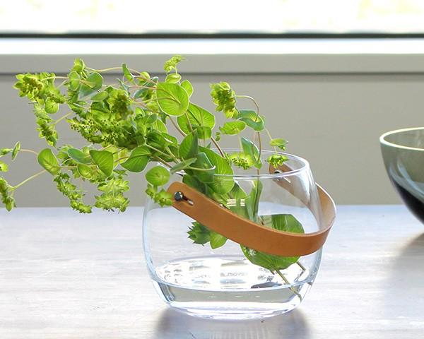 ホルムガード デザイン・ウィズ・ライト ポット(ジャー) 12cm クリア Holmegaard Design with Light Pot(Jar)