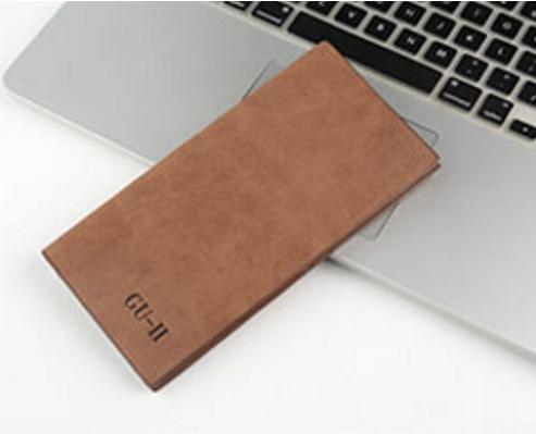 超薄型 長財布 二つ折り メンズ レディース ...