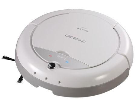 SHARP ロボット掃除機 COCOROBO ホワイト RX-V50-...