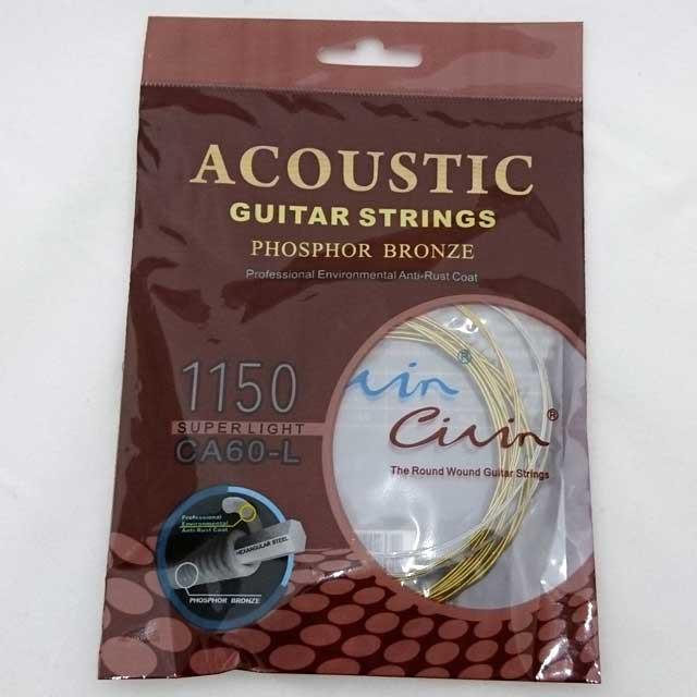 アコギ用交換弦 アコースティックギター弦 6弦セ...