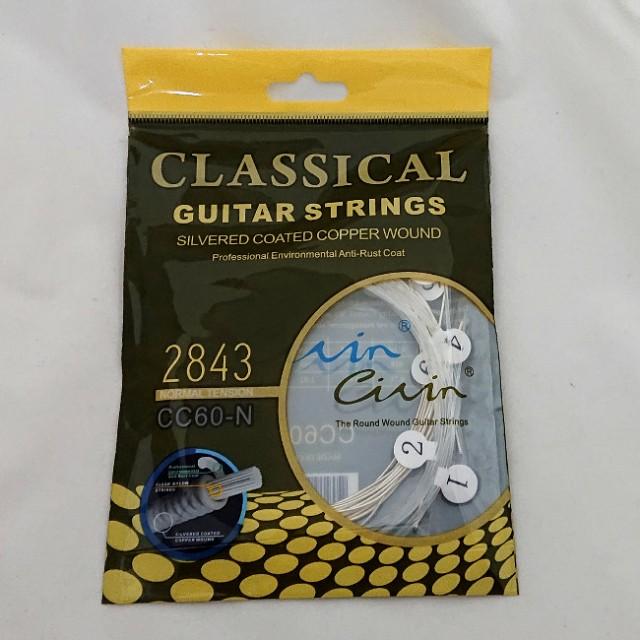 一番安い クラシックギター弦 6本セット Civin ノ...
