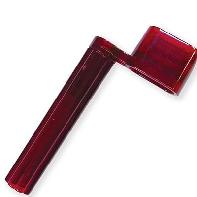 プラスチック ストリングワインダー 赤 ギターの...